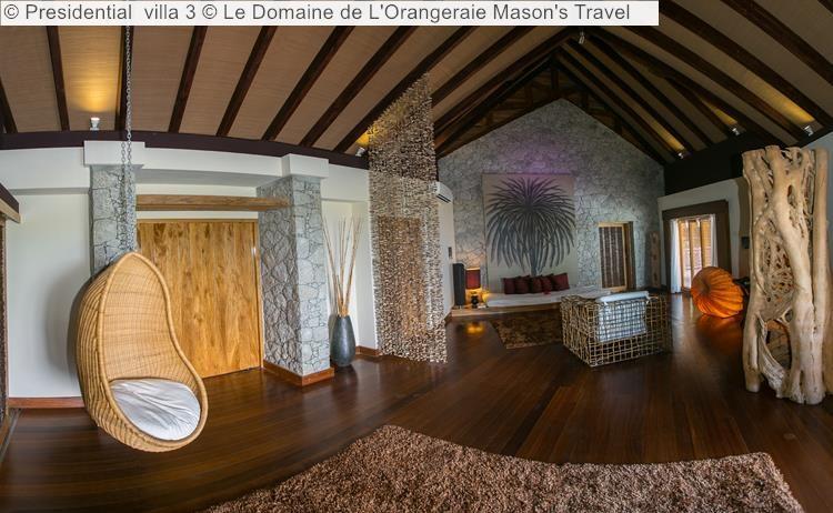 Presidential villa Le Domaine de LOrangeraie