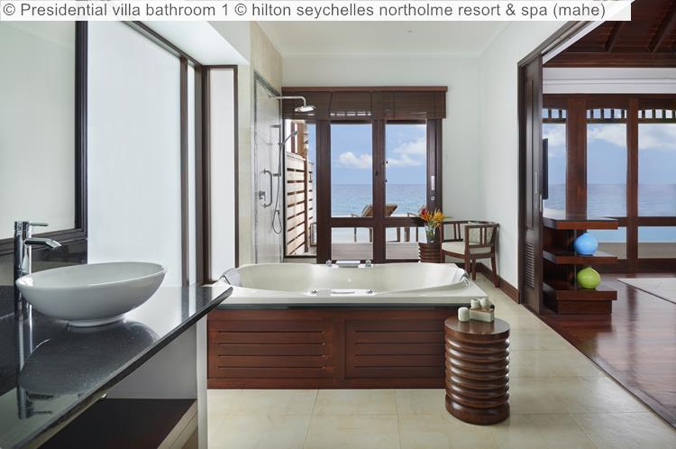 Presidential Villa Bathroom 1 © Hilton Seychelles Northolme Resort & Spa (mahe)
