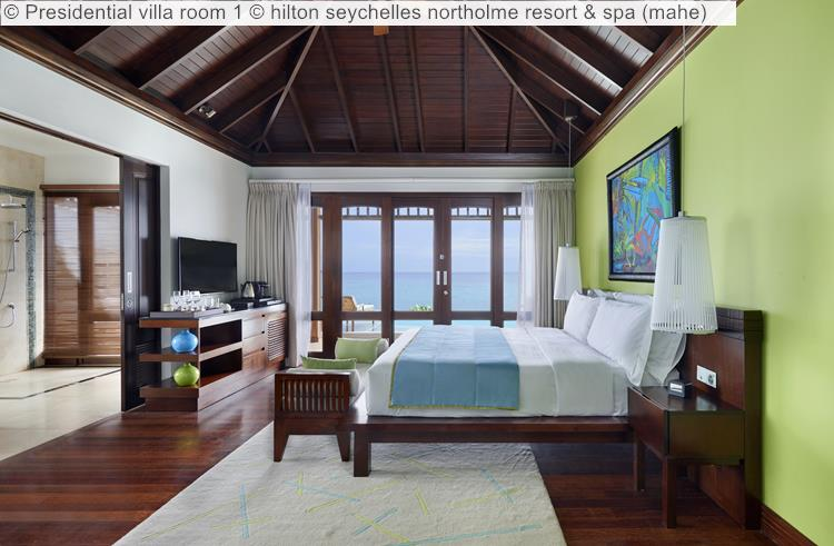 Presidential Villa Room 2 © Hilton Seychelles Northolme Resort & Spa (mahe)