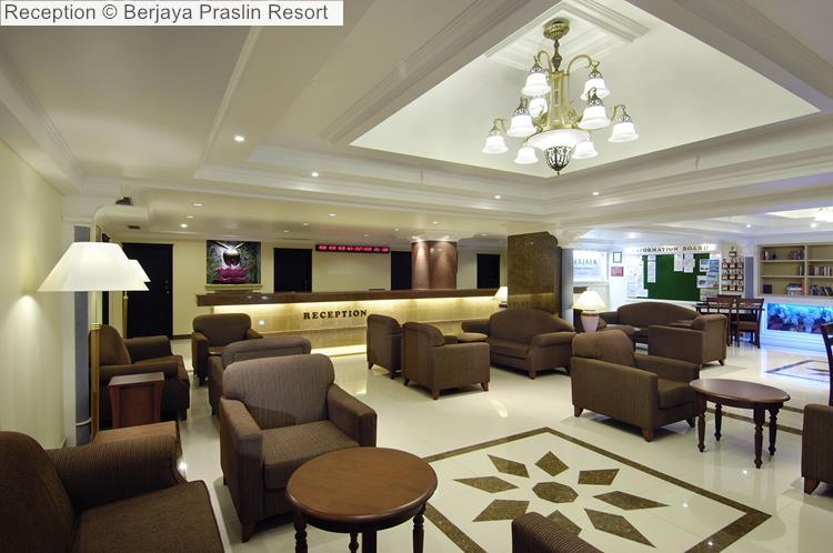 Reception © Berjaya Praslin Resort