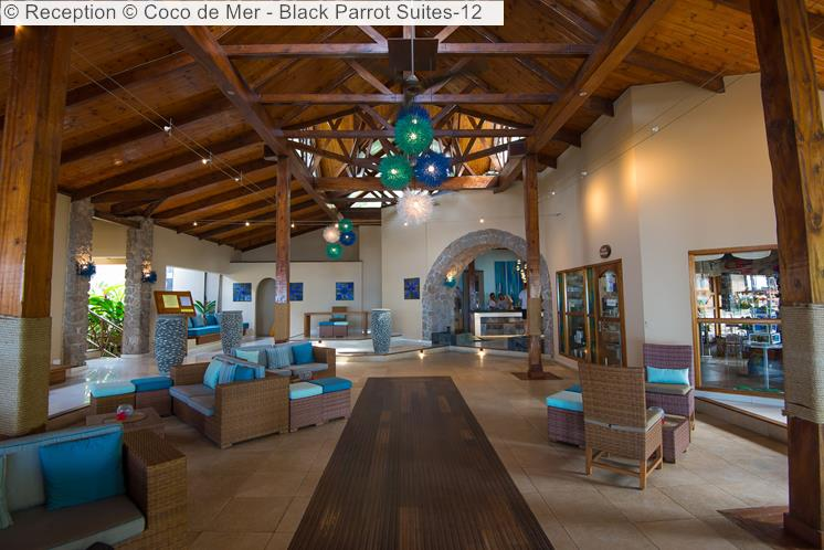 Reception © Coco De Mer Black Parrot Suites