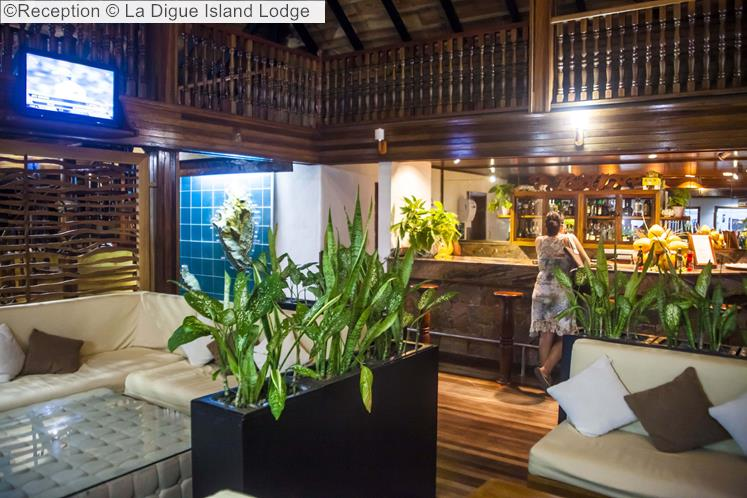 Reception © La Digue Island Lodge