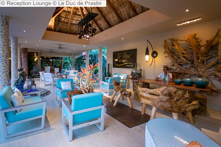 Reception Lounge © Le Duc De Praslin
