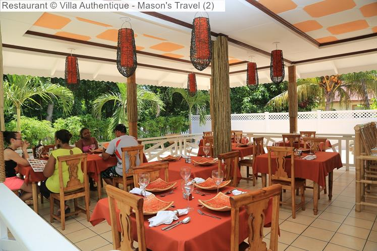 Restaurant © Villa Authentique Mason's Travel