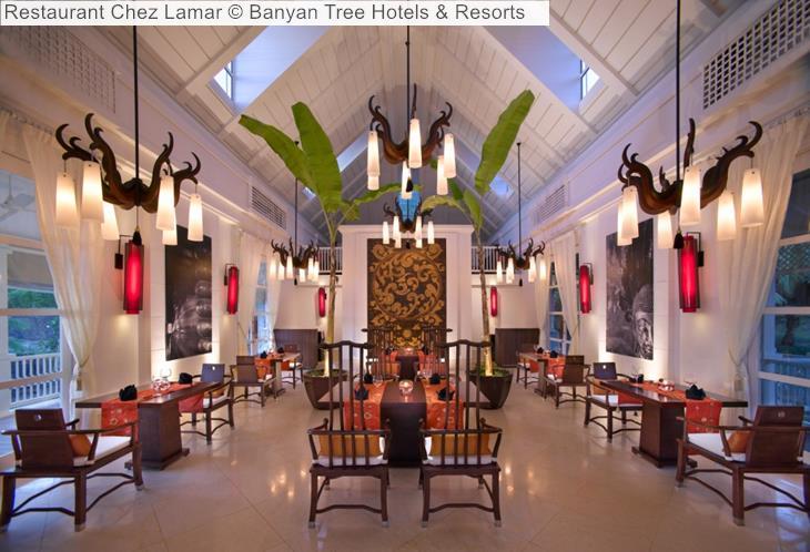 Restaurant Chez Lamar Banyan Tree Hotels Resorts Seychelles