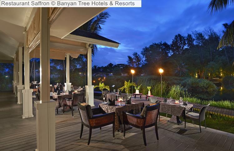 Restaurant Saffron Banyan Tree Hotels Resorts Seychelles