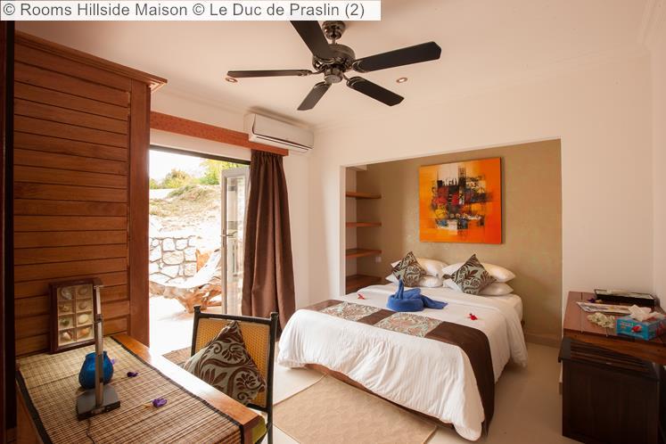 Rooms Hillside Maison © Le Duc De Praslin