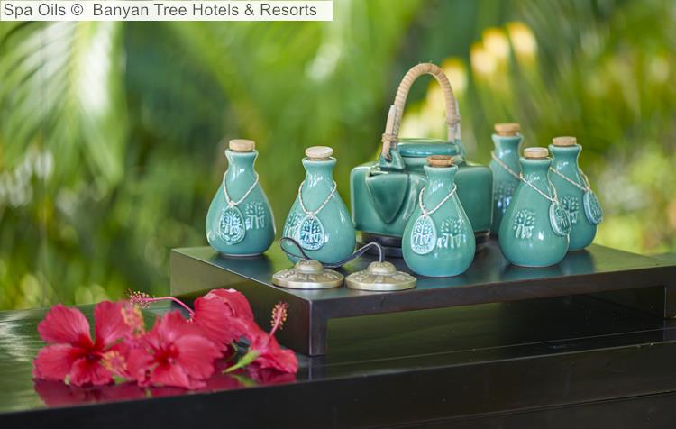 Spa Oils Banyan Tree Hotels Resorts Seychelles