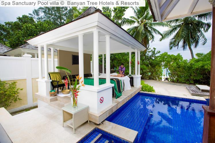 Spa Sanctuary Pool Villa © Banyan Tree Hotels & Resorts (Seychelles)