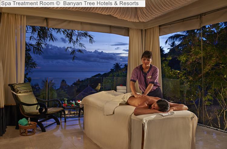 Spa Treatment Room Banyan Tree Hotels Resorts Seychelles