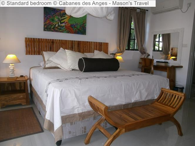 Standard Bedroom © Cabanes Des Anges Mason's Travel