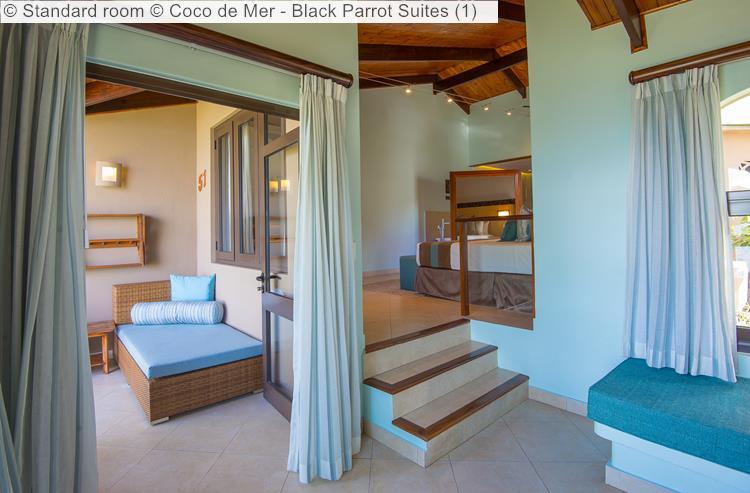 Standard room Coco de Mer Black Parrot Suites