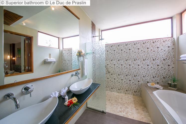 Superior bathroom Le Duc de Praslin