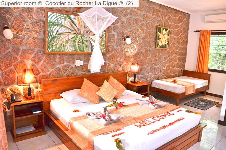 Superior Room© Cocotier Du Rocher La Digue ©