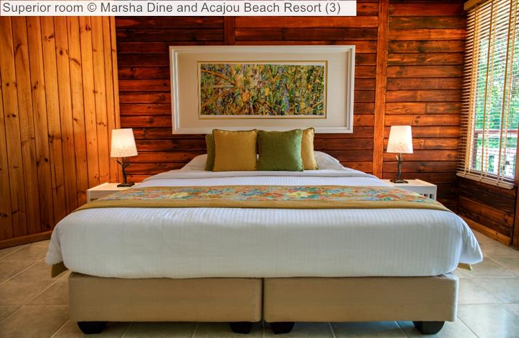 Superior Room © Marsha Dine And Acajou Beach Resort