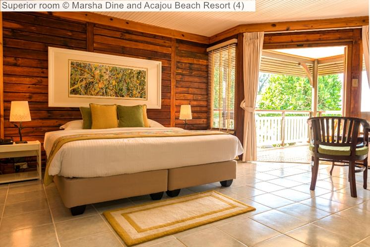 Superior room   and Acajou Beach Resort