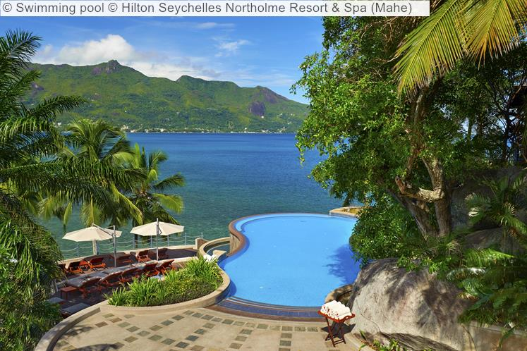 Swimming Pool © Hilton Seychelles Northolme Resort & Spa (Mahe)