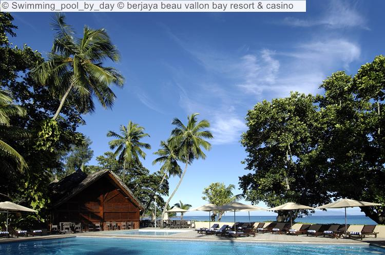 Swimming Pool By Day © Berjaya Beau Vallon Bay Resort & Casino