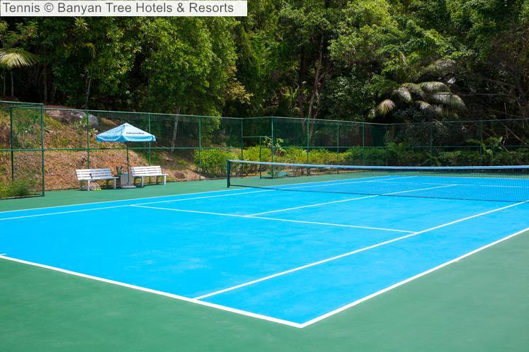 Tennis Banyan Tree Hotels Resorts Seychelles