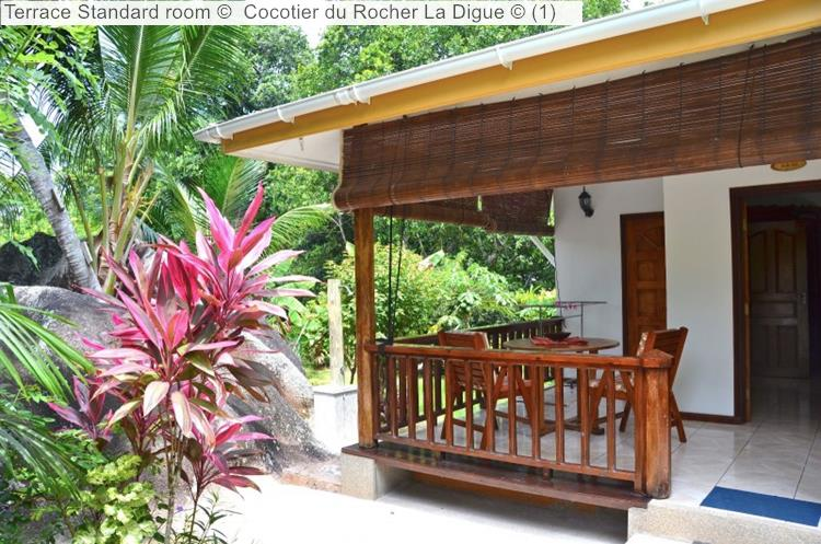 Terrace Standard Room © Cocotier Du Rocher La Digue ©