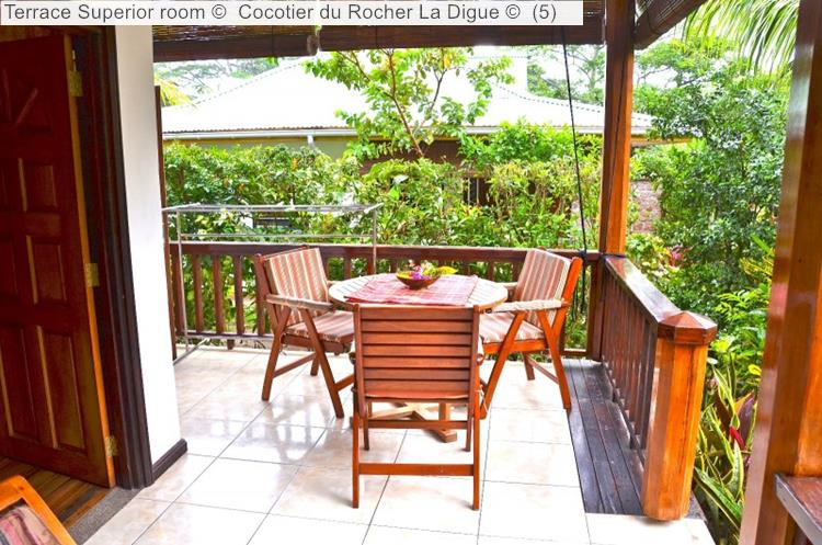 Terrace Superior Room © Cocotier Du Rocher La Digue ©