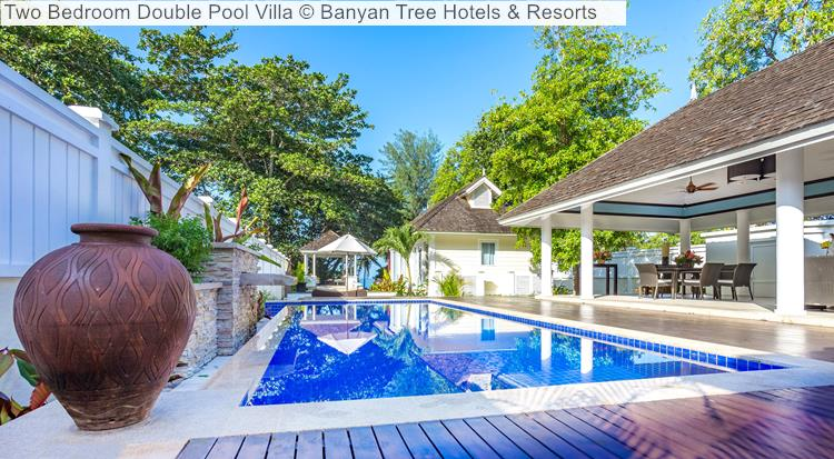 Two Bedroom Double Pool Villa © Banyan Tree Hotels & Resorts (Seychelles)