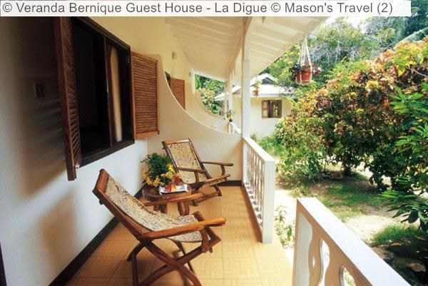Veranda Bernique Guest House La Digue © Mason's Travel