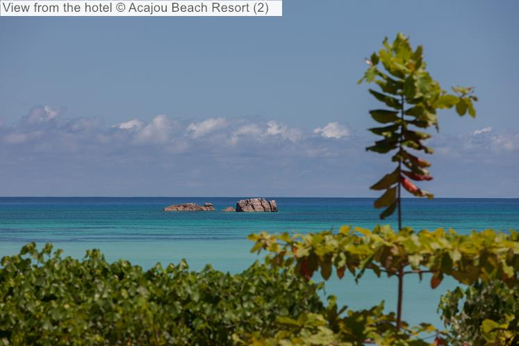 View From The Hotel © Acajou Beach Resort