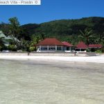 View On Beach Villa Praslin ©