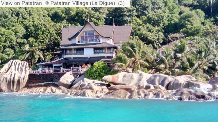 View On Patatran Village (La Digue, Seychelles)