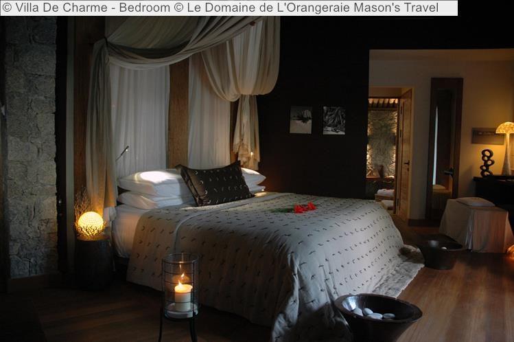 Villa De Charme Bedroom Le Domaine de LOrangeraie