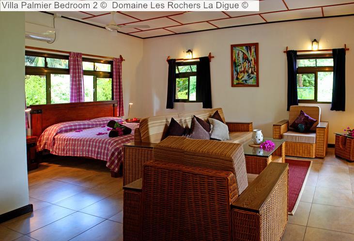 Villa Palmier Bedroom Domaine Les Rochers La Digue