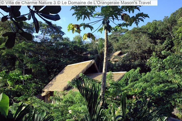 Villa de Charme Nature Le Domaine de LOrangeraie