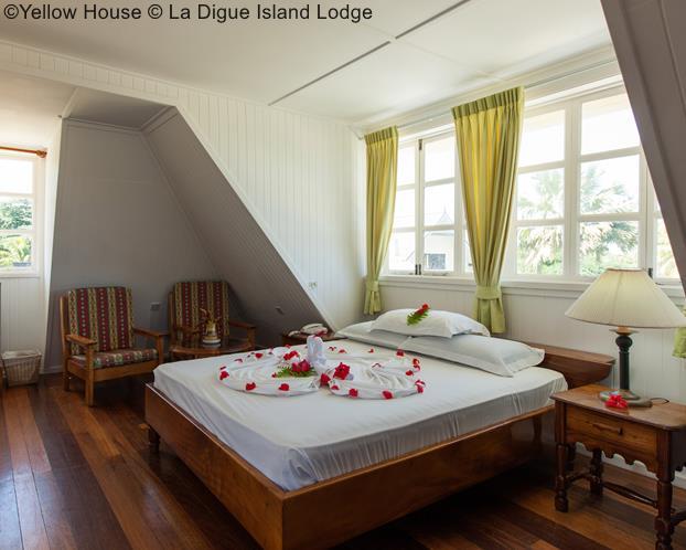 Yellow House © La Digue Island Lodge