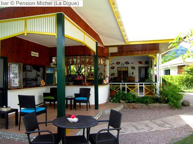 Bar © Pension Michel (La Digue)