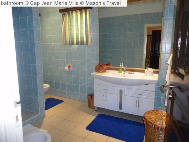 Bathroom © Cap Jean Marie Villa © Mason's Travel