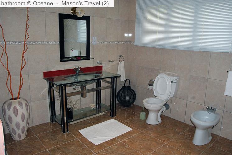 Bathroom Oceane self-catering (La Digue, Seychelles)