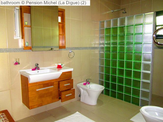 Bathroom © Pension Michel (La Digue)