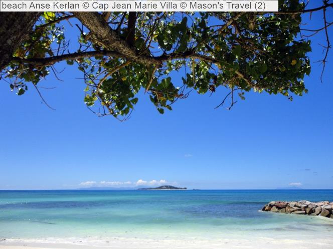 Beach Anse Kerlan © Cap Jean Marie Villa © Mason's Travel