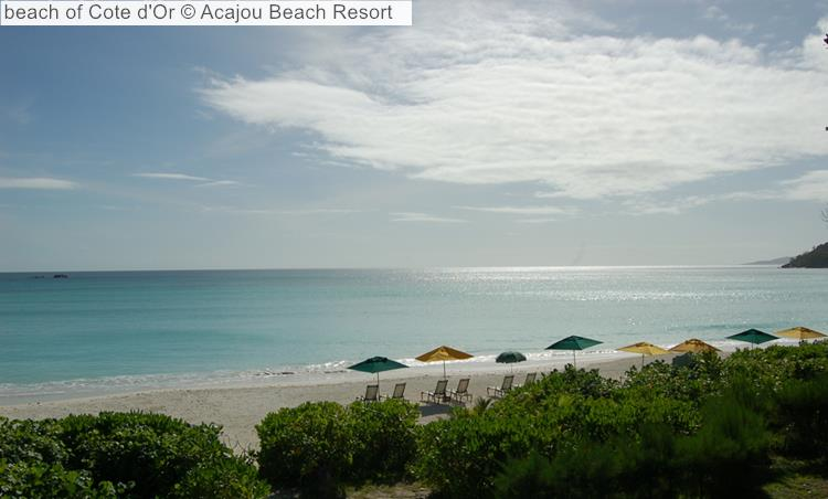 Cote D'Or Beach © Acajou Beach Resort