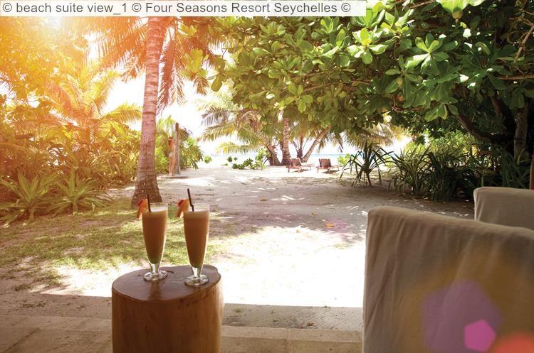 beach suite view Four Seasons Resort Seychelles