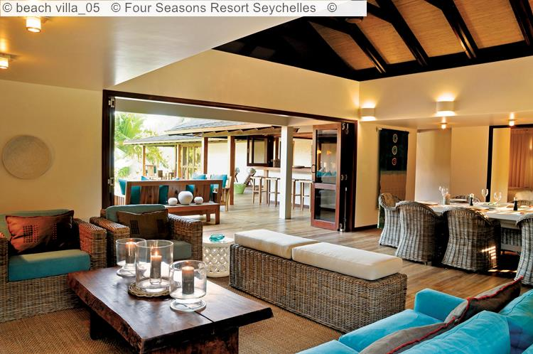 beach villa Four Seasons Resort Seychelles