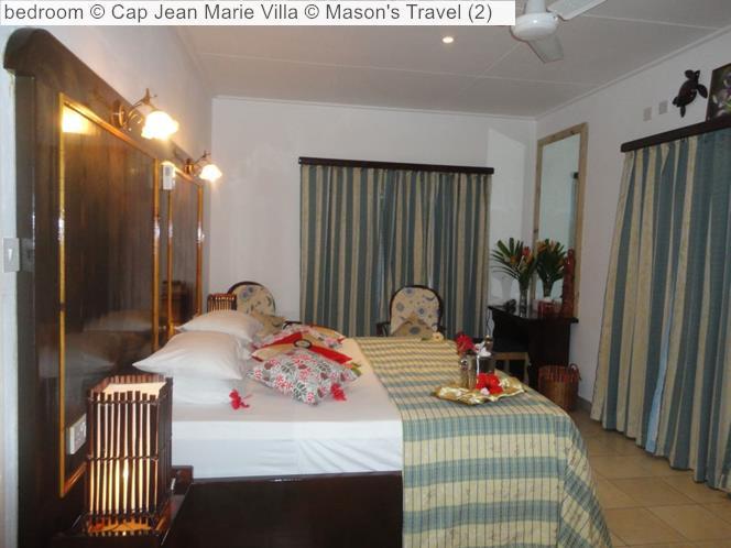 Bedroom © Cap Jean Marie Villa © Mason's Travel