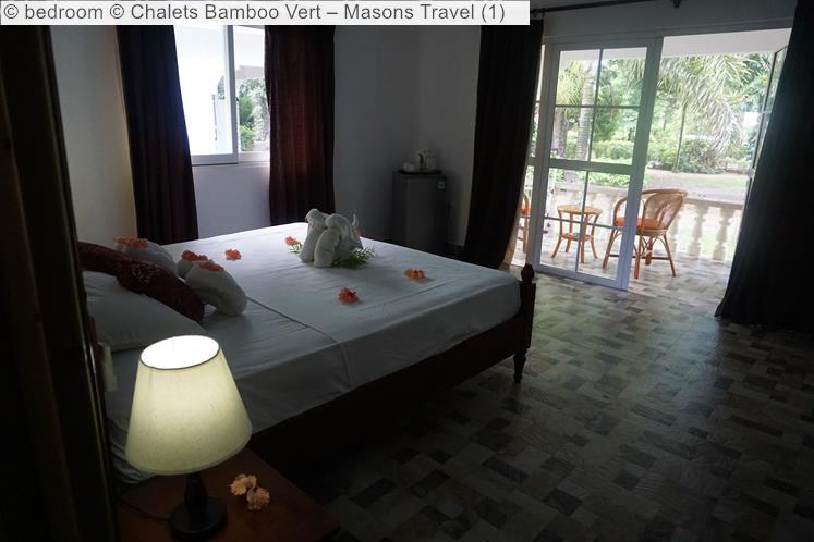 bedroom Chalets Bamboo Vert –