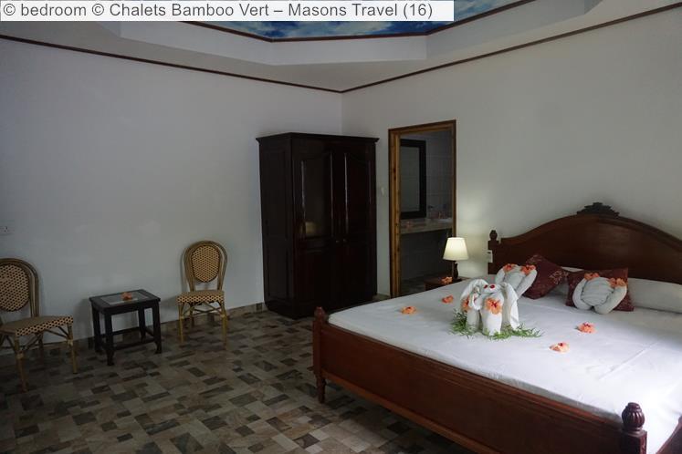 Bedroom © Chalets Bamboo Vert – Masons Travel
