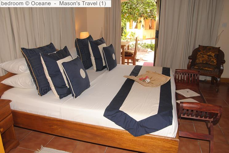 Bedroom Oceane self-catering (La Digue, Seychelles)