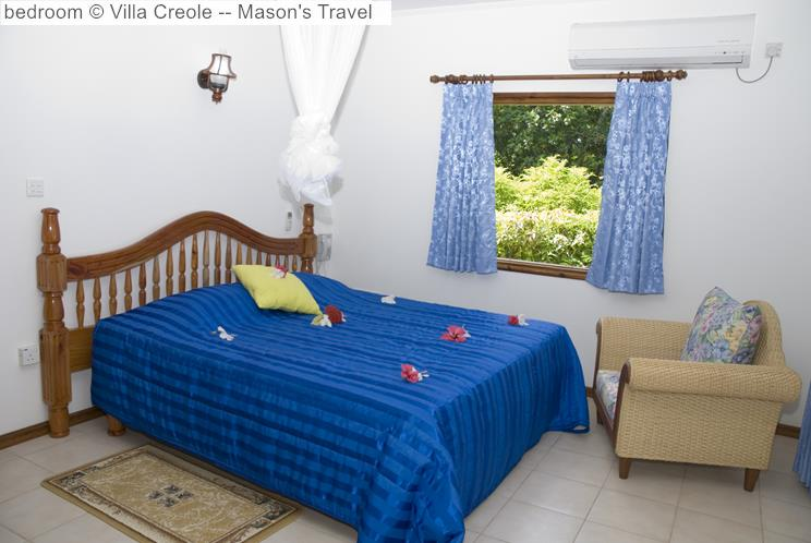 Bedroom © Villa Creole Mason's Travel