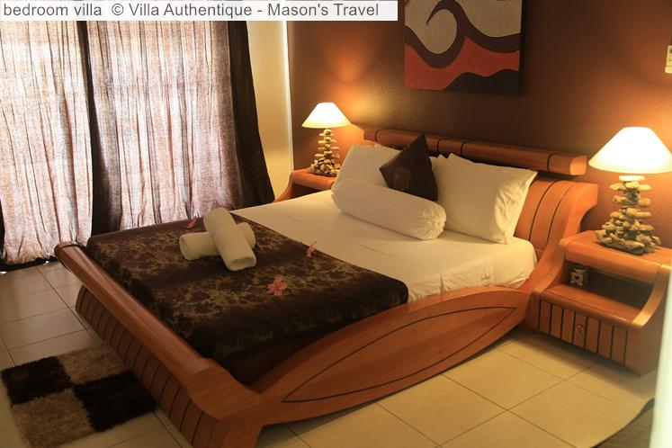 Bedroom Villa © Villa Authentique Mason's Travel