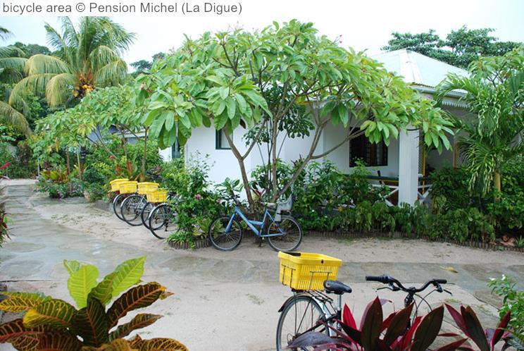 Bicycle Area © Pension Michel (La Digue)