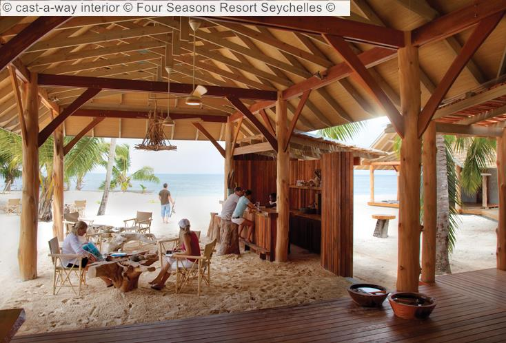 Cast A Way Interior © Four Seasons Resort Seychelles ©